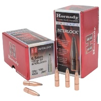 Hornady .264 129 gr InterLock SP 100 Pack